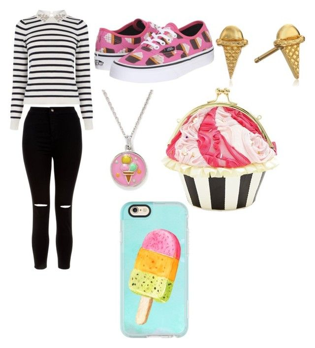Gimme that sweetness by rimalee on Polyvore featuring polyvore, fashion, style, Oasis, New Look, Vans, Betsey Johnson, Gorjana, Chrysalis, Casetify and clothing