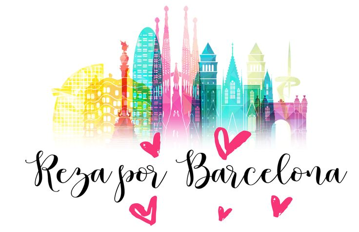 Praying for our beautiful Barcelona. Our thoughts and prayers are with the victims, their families and all the people of Barcelona.