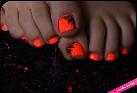 Resultado de imagen para uñas de color naranja