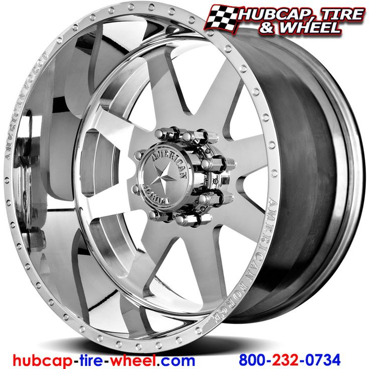 American Force Independence SS8 (8 Lugs) Polished (not chrome) Wheels & Rims for Trucks and Jeeps