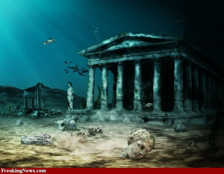 Lost City of Atlantis; Places it could exist.