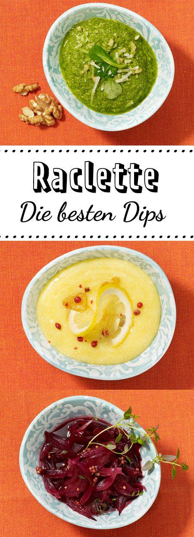 Feldsalat-Pesto, Bananen-Curry-Dip, Zwiebel-Confit, Teufelssoße und Zitronen-Aioli - das sind unsere 5 Lieblingsdips!