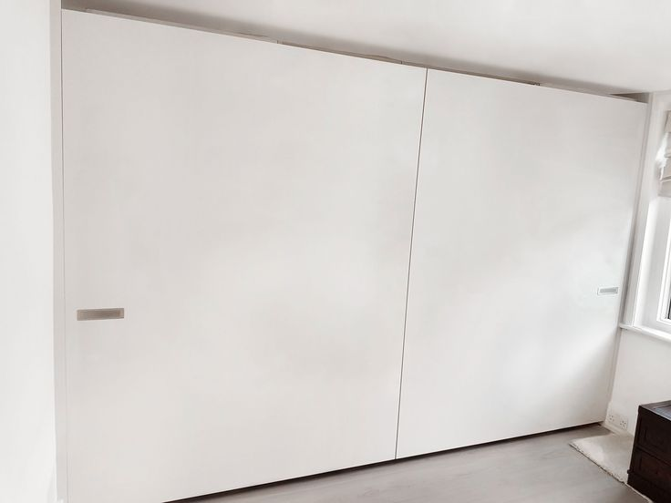 Linea Flush Closing Sliding System Wardrobe