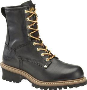 Carolina Men's 8 in. Plain Toe  Logger Boots