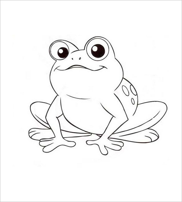 25+ best Frog template ideas on Pinterest | Frog coloring pages ...