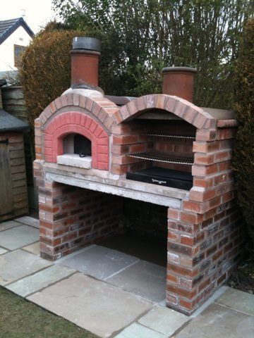 Bespoke Barbeque With A Built In Im 225 Genes Pinterest