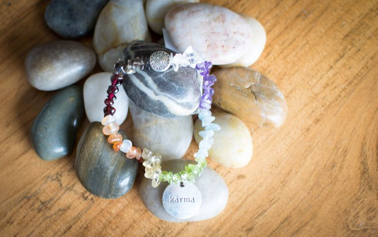 A personal favorite from my Etsy shop https://www.etsy.com/ca/listing/458197028/chakra-balancing-stretch-bracelet