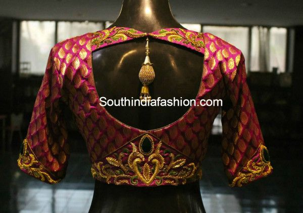 Sleeve embellishment idea - blouse_designs_for_pattu_sarees1