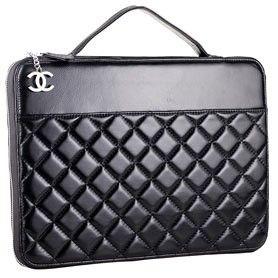 Chanel laptop case. Love it! Want it!