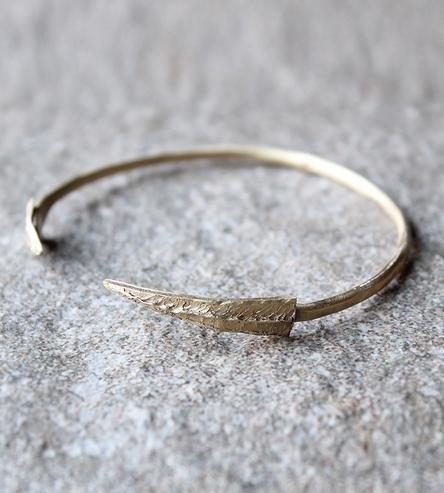 Rocky Ridge Arrow Cuff Bracelet by Amanda Hagerman Jewelry on Scoutmob Shoppe