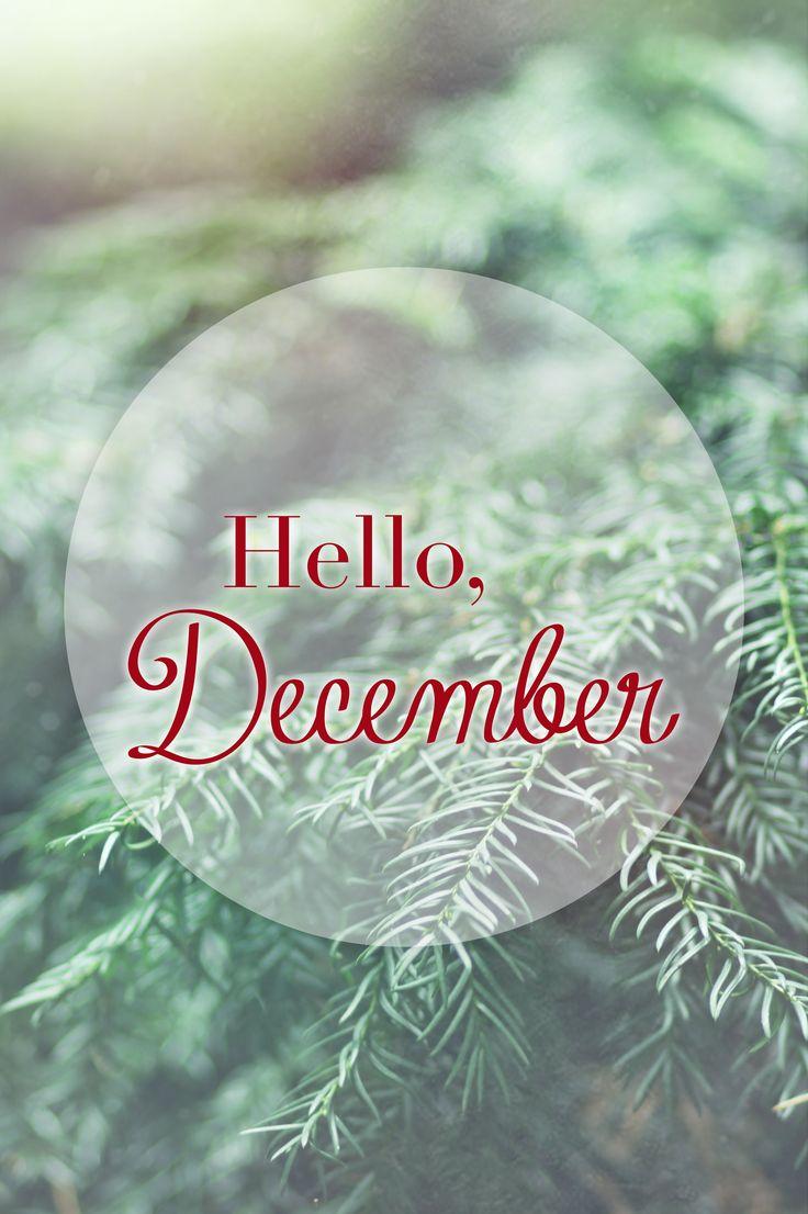 ❋ Hello December