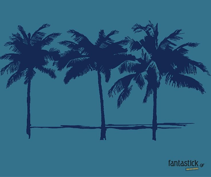 Palm trees on your wall #fantastick #sticker # wallart