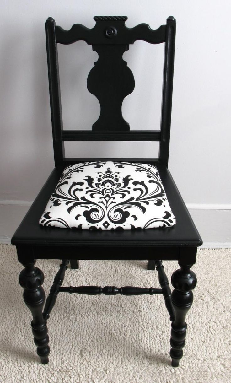 Black Bedroom Ideas, Inspiration For Master Bedroom Designs. Old  ChairsVintage ... - Best 20+ Painting Old Chairs Ideas On Pinterest Chair Bench