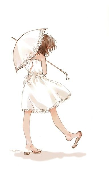 Nice: Summer Dresses, Umbrellas, Illustrations, Drawings Idea, Parasol, Ashito Drawings, Sweet Art, Girls Rooms, Animal