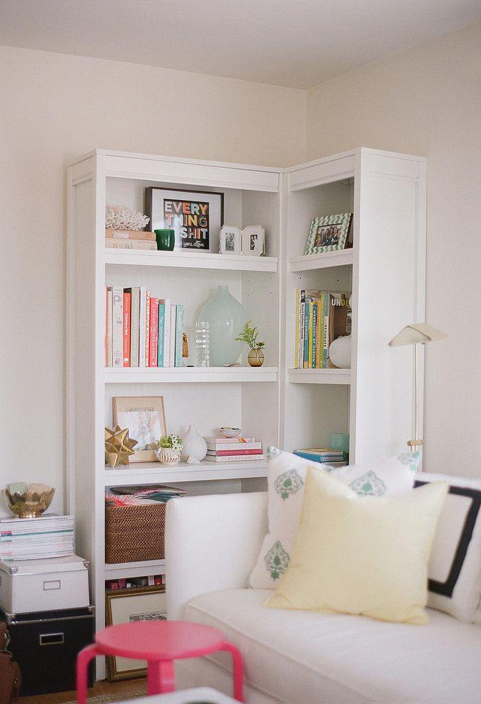 1000 Ideas About Corner Bookshelves On Pinterest