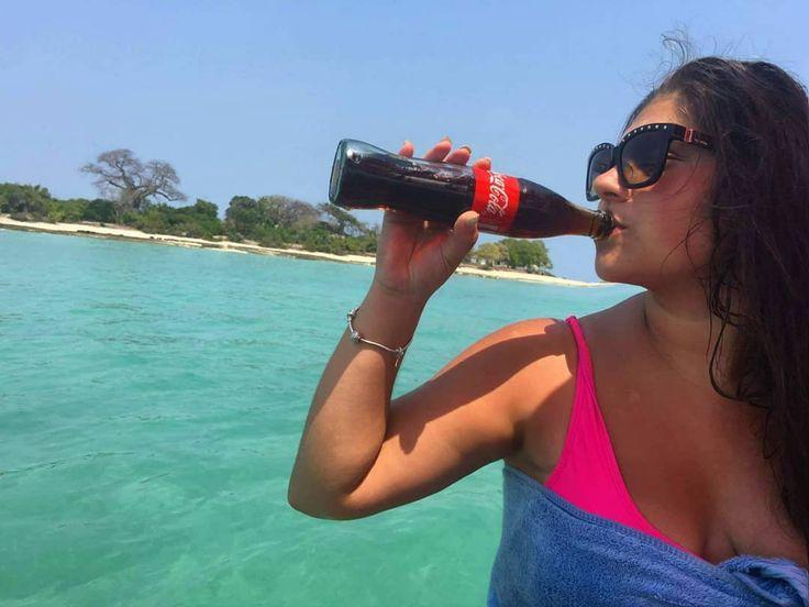 Unpaid partnership with Coca Cola  . . . . . . #cocacola #ad #adventuretime #messyhair #sunsoutbunsout #sunflower #specs #tanzania #zanzibar #throwback #holidayblues #happier #blueeverything #bluesky #globetrotting #wanderlust #wanderer #traveller #travelgram #travelblogger #travelbug #travelogue #travelholic #photooftheday #quoteoftheday #tan #memories #takemeback