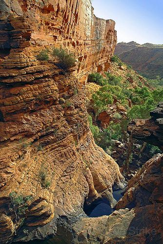 Kings Canyon - Australian Outback. Wow! Would love to go there to photograph the views!