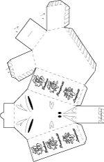 Fabriquer une boite chat en carton léger pour mettre l'argent de la chance du nouvel an chinois ou ce qu'on veut