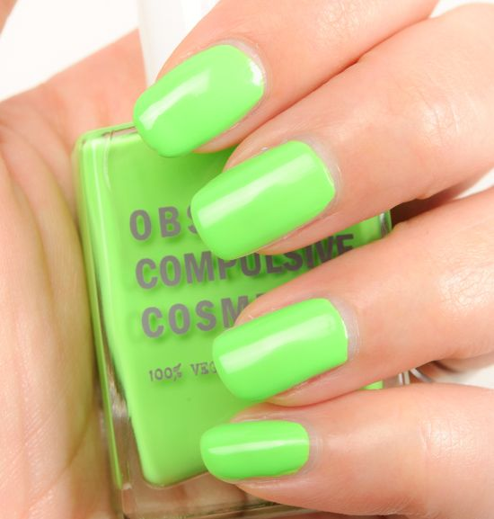 OCC Automaton, Deven Green, Pool Boy Nail Lacquers Reviews, Photos, Swatches