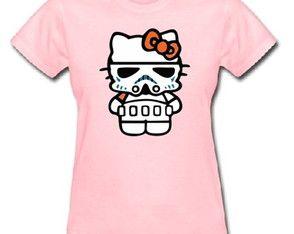 Baby Look Hello Kitty Star Wars