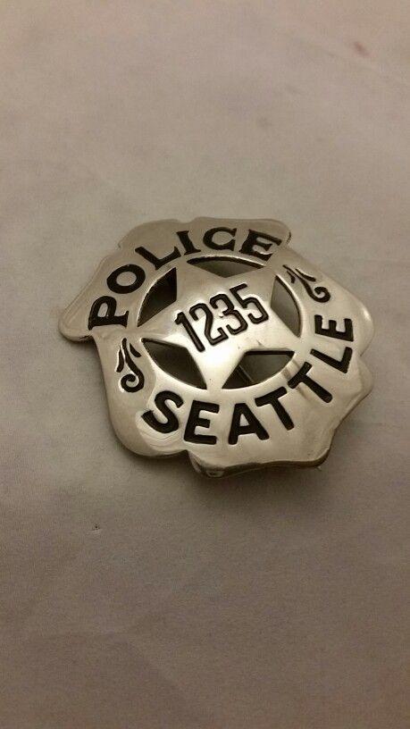1930's Seattle Washington Police badge