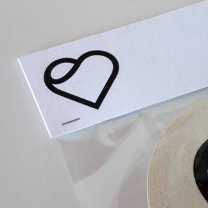 Simple, gender-neutral heart design that would probably appeal to the market