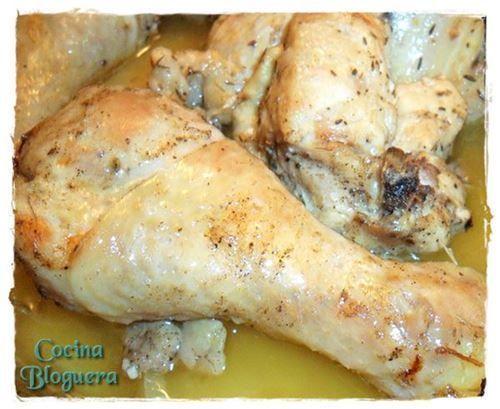 Pollo Troceado Especiado al Horno