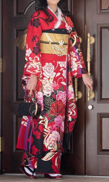 Japanese Fashion - Kimono #furisode