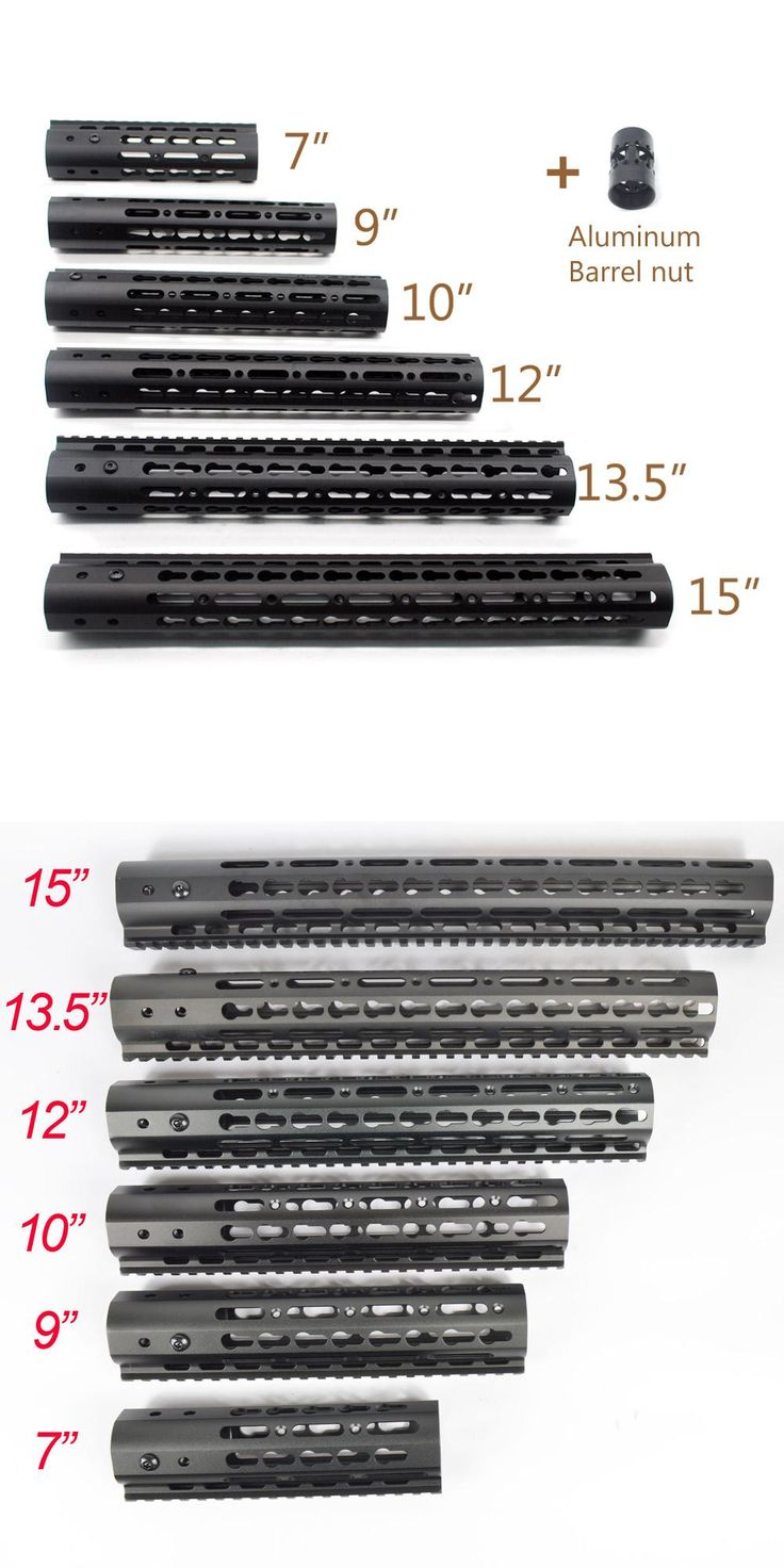 """[Visit to Buy] Black Slim Style 7"""" 9"""" 10"""" 12"""" 13.5"""" 15"""" AR15 Free Float Keymod Handguard Picatinny Rail for Hunting Tactical Rifle Scope Mount #Advertisement"""