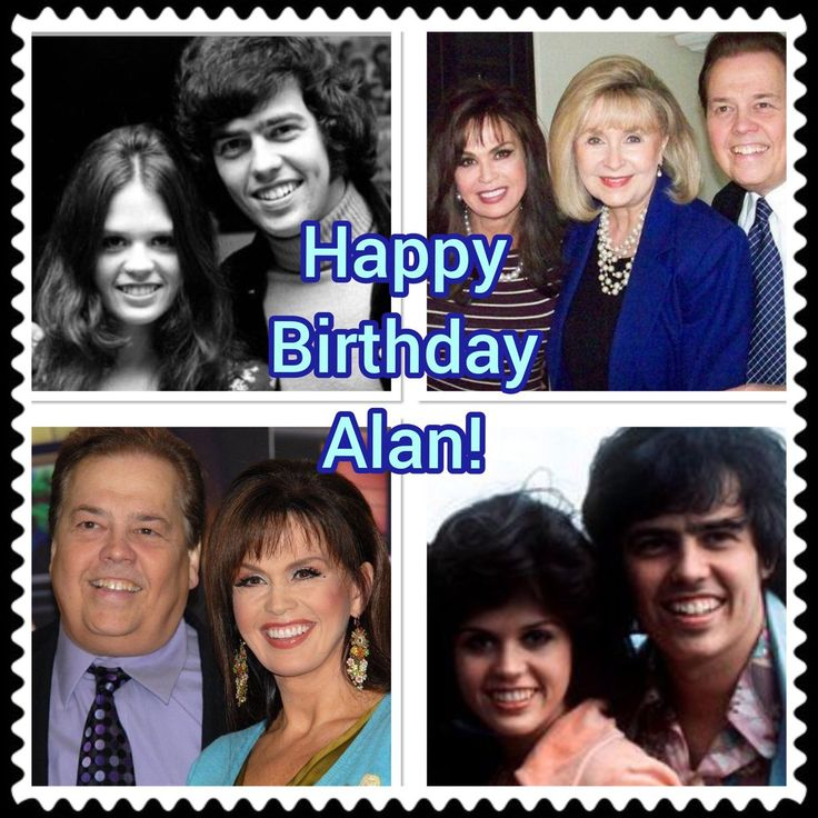 Happy Birthday Alan, Marie Osmond, Happy