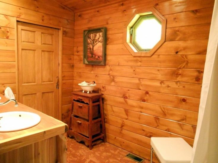 Small Rustic Bathroom Ideas: Best 25+ Small Cabin Bathroom Ideas On Pinterest