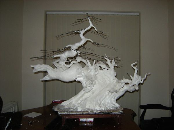 Production of the artificial bonsai