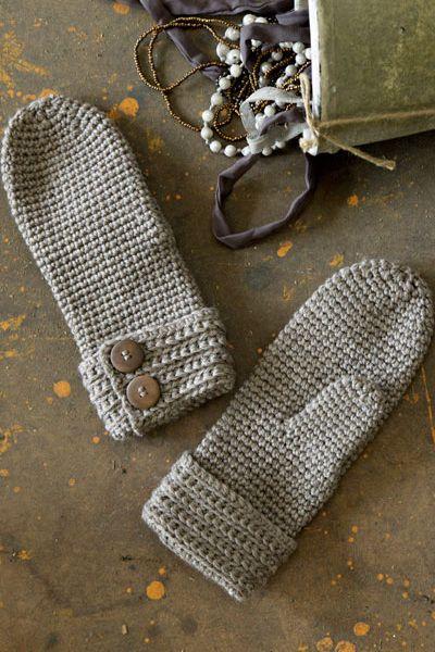 Virkatut lapaset Novita Isoveli | Novita knits