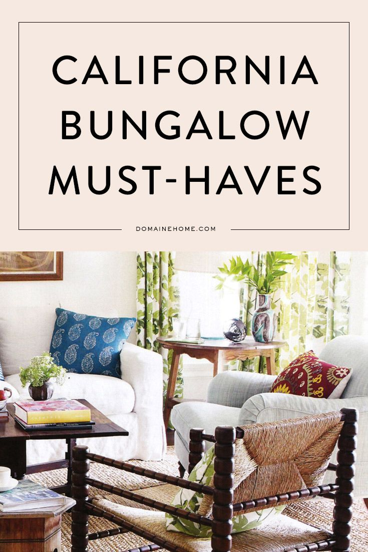 The 25 best California bungalow interior ideas on Pinterest