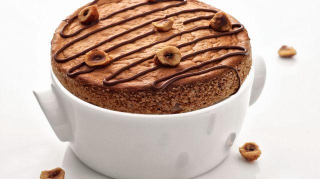 Soufflé pur choc au Nutella de Christophe Michalak