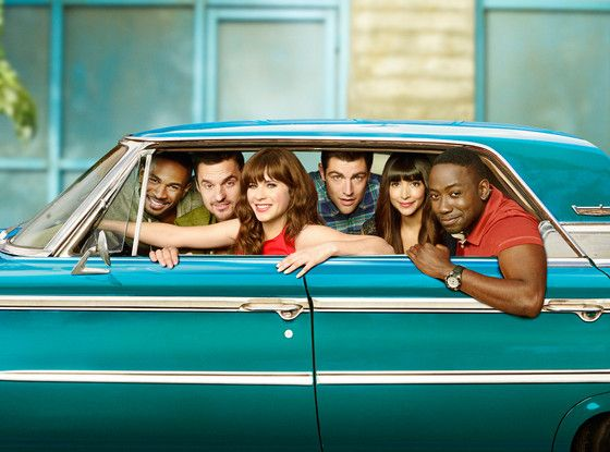 Watch New Girl's New Opening Credits—and Find Out Why They Changed!  NEw Girl, Damon Wayans, Jr., Jake Johnson, Zooey Deschanel, Max Greenfield, Hannah Simone, Lamorne Morris.