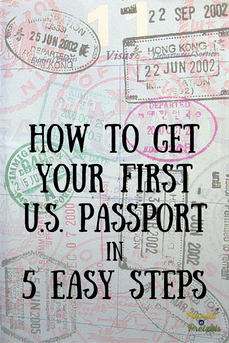 How To Get Your First Us Passport In 5 Easy Steps