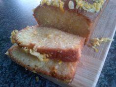 Banting Cake Recipe This delicious lemon drizzle Banting cake recipe is also gluten-free & Paleo friendly.  #Banting  #BantingCake