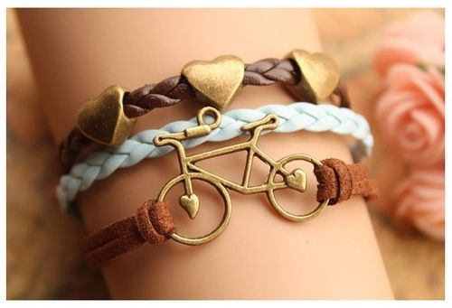 I would love to have the three bracelets.
