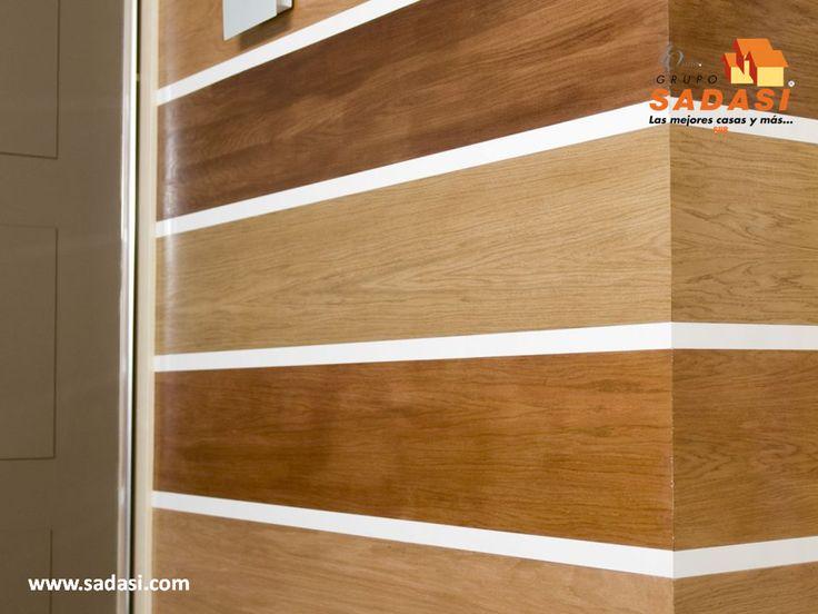 #decoracion LAS MEJORES CASAS DE MÉXICO. Los paneles de PVC y de otros materiales como madera o sus imitaciones, son excelentes para el revestimiento de las paredes, entre los cuales podemos encontrar aquellos que incluyen iluminación, por lo que lucen más e iluminan su hogar de una forma diferente. En Grupo Sadasi al comprar su casa en nuestros desarrollos, está adquiriendo un patrimonio de vida seguro. www.sadasi.com