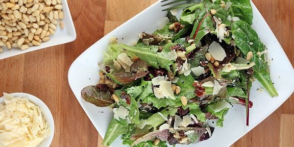 Vegetables are an essential part of a healthy low-carb diet. Try this high-protein keto mixed green salad with bacon. Salad or meal option.Your choice.