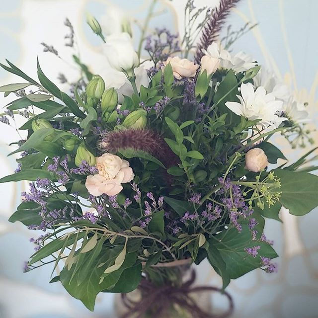 Our beautiful bouquet from @blissflowersadelaide just to brighten up the shop