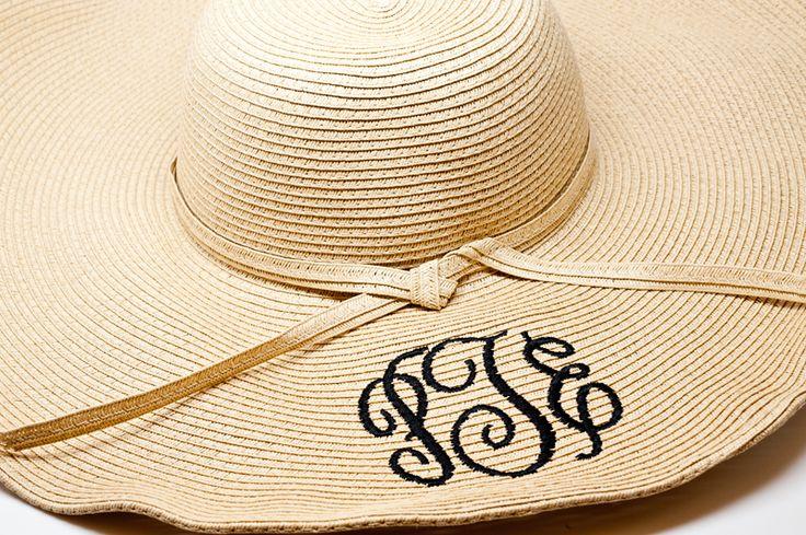 Beach attire - Monogram Hat