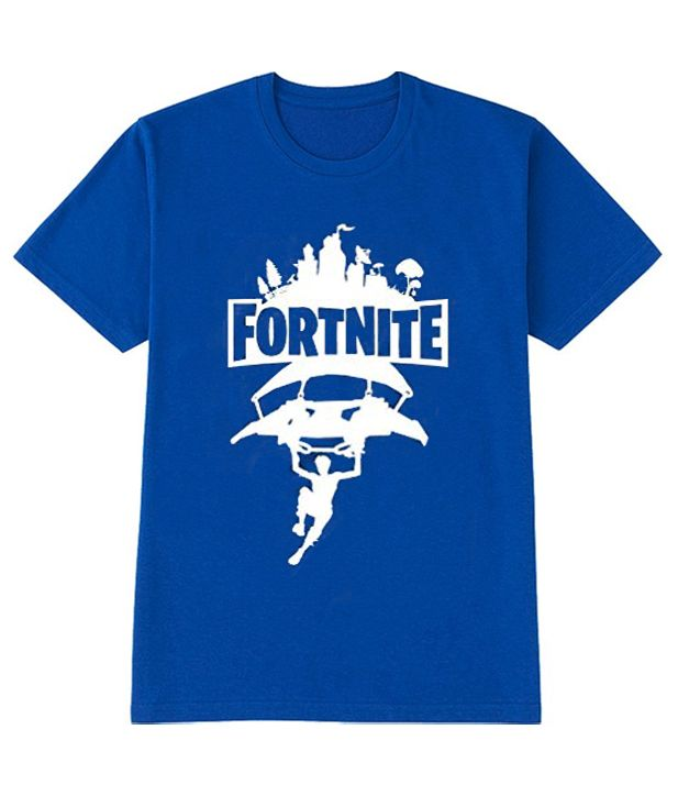 3fa06ac4 Fortnite Fan Blue T Shirt | Famous T-Shirt Ever | T shirt, Shirts ...
