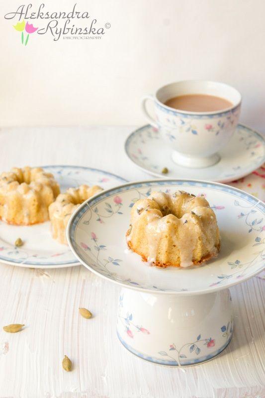Babeczki lawendowo-miodowe/ Lavender & honey Teacakes :)