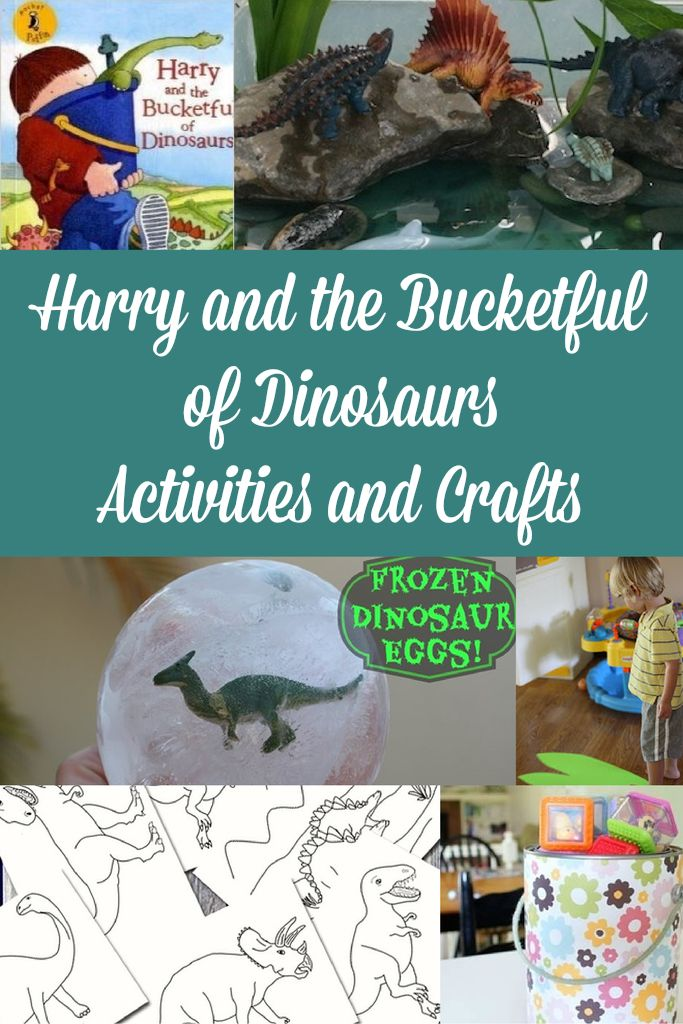 Harry and the Bucketful of Dinosaurs Activities