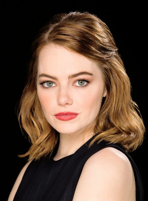 Emma Stone photographed by Kirk McKoy.