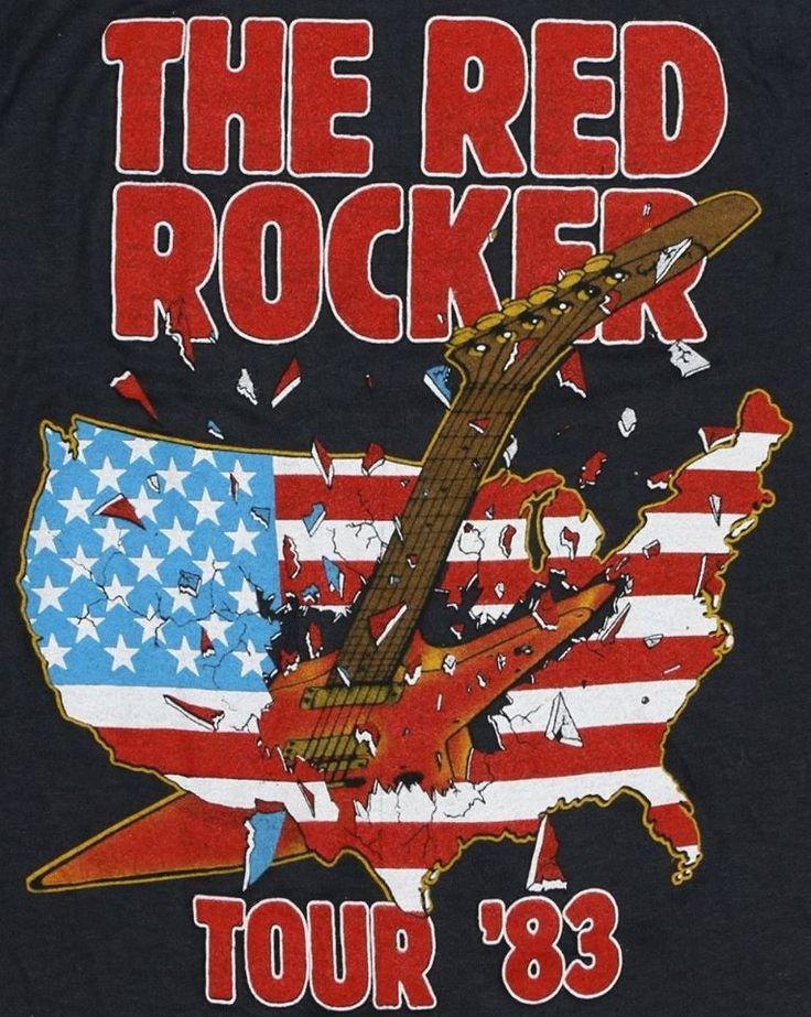 Sammy Hagar Vintage T-Shirt https://www.facebook.com/FromTheWaybackMachine/