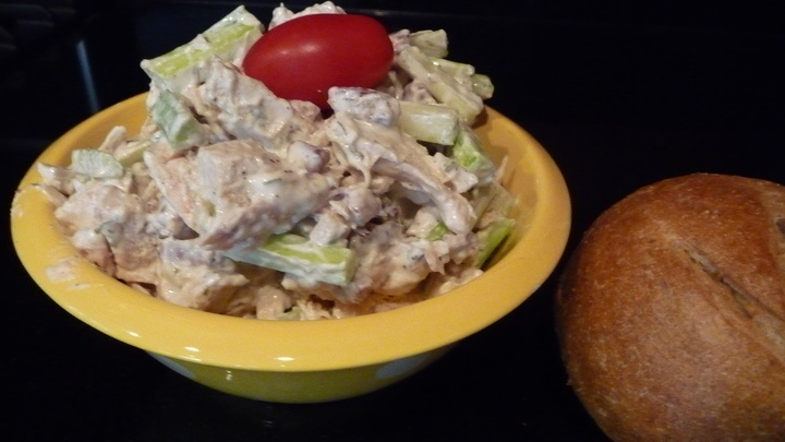 Tarragon Chicken Salad Recipe from The Silver Palate Cookbook. Tarragon was THE herb of the 80's and tarragon chicken salad was everywhere!