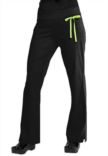 Urbane Sport knit roll top scrub pants.